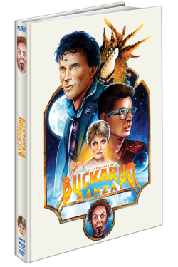 LES AVENTURES DE BUCKAROO BANZAI A TRAVERS LA 8 EME DIMENSION - BLU-RAY + DVD + 10 GRANDES CARTES POSTALES + 1 TOTE BAG