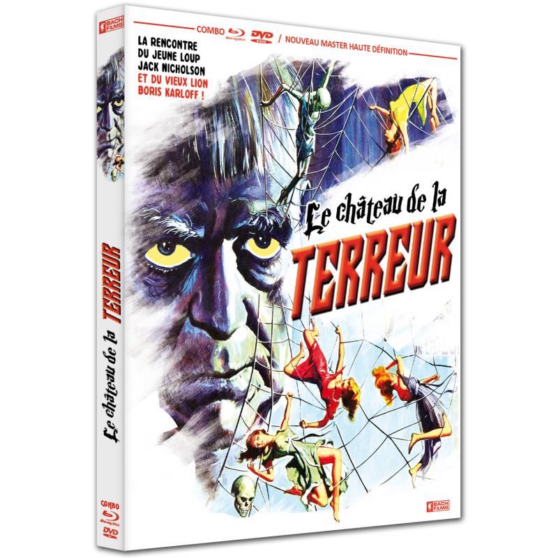 LE CHATEAU DE LA TERREUR COMBO BLU-RAY / DVD