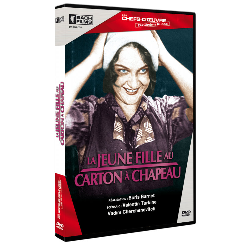 LA JEUNE FILLE AU CARTON A CHAPEAU