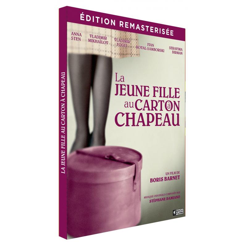 LA JEUNE FILLE AU CARTON A CHAPEAU - DIGIPACK EDITION REMASTERISEE